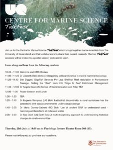 Centre of Marine Science TallkFest